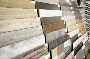 choosing the right flooring, kitchen and bathroom design